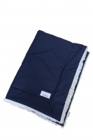 Monimo Baby Blanket White/Navy